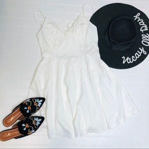 ILLA ILLA Tie Open Back Mini Dress